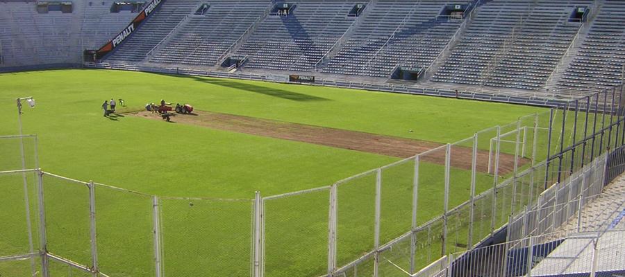 Cesped Bermuda Estadio Velez Sarsfield - Nuevos Verdes